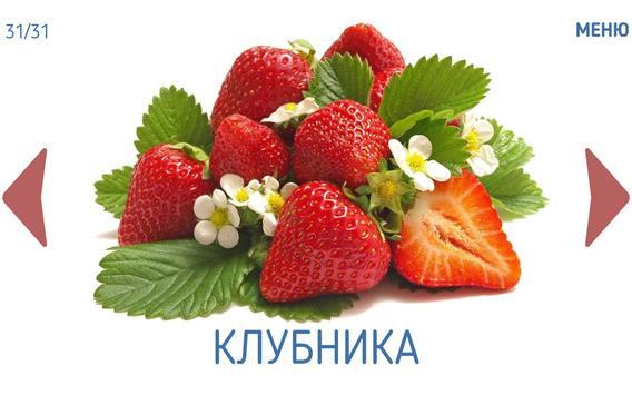 Фрукты овощи ягоды для детей screenshot 5