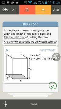PrepWell for CBSE XII Maths apk screenshot