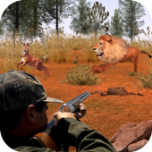 Hunting Safari Jungle Animals with Modern Weapons icon