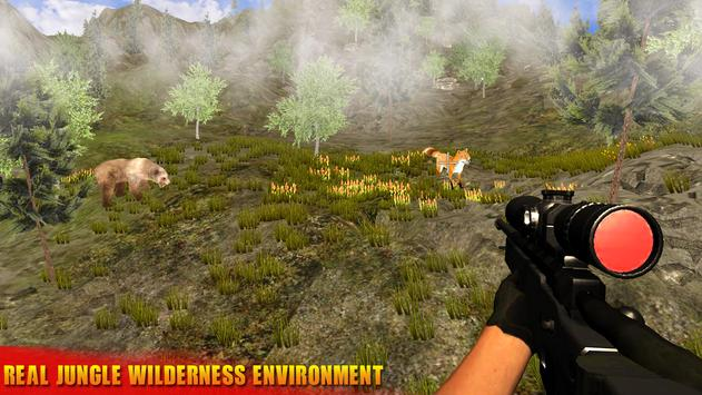 Hunting Safari Jungle Animals with Modern Weapons apk screenshot