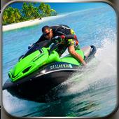 Water Power Boat Racing 3D: Jet Ski Speed Stunts icon