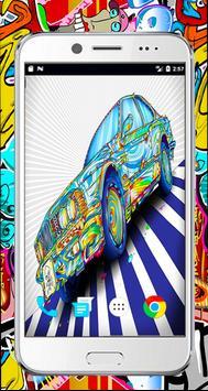 Graffiti 3d wallpaper-full Graffiti Drawings color poster