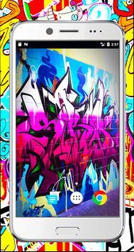 Graffiti 3d wallpaper-full Graffiti Drawings color screenshot 7