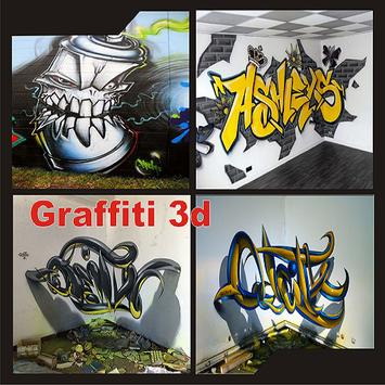 Graffiti 3d poster