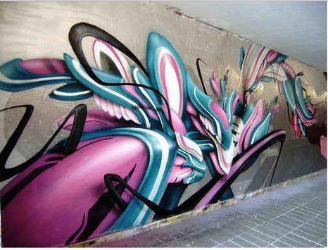 3d graffiti art screenshot 3