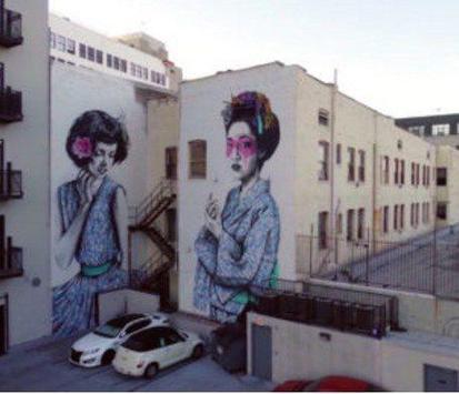 3d graffiti art poster