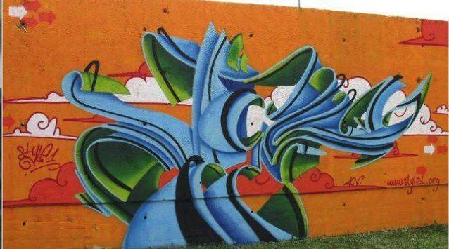 3d graffiti art screenshot 10