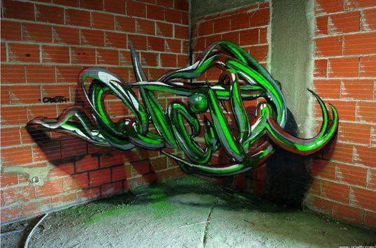 3d graffiti art screenshot 14