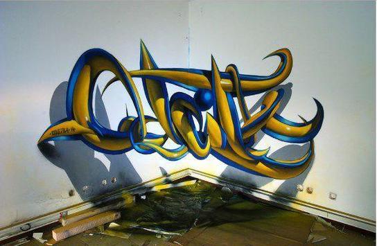 3d graffiti art screenshot 15