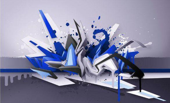 3d graffiti art screenshot 5