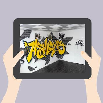 3D Graffiti Design Ideas apk screenshot