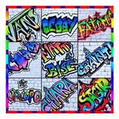 graffiti name creator icon