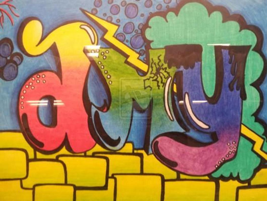 Pencipta nama graffiti poster