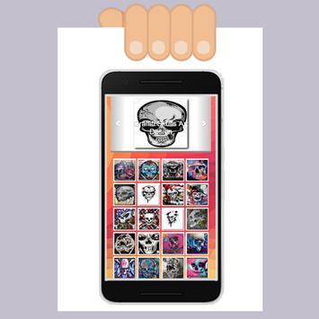 Graffiti Skull Art Design screenshot 1