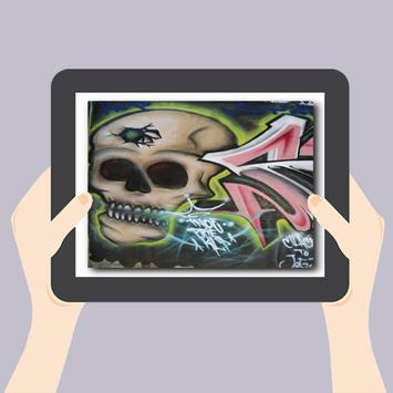 Graffiti Skull Art Design apk screenshot