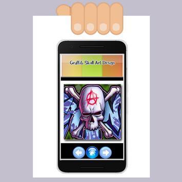 Graffiti Skull Art Design screenshot 3