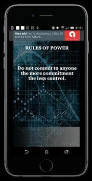 Rules Of Power screenshot 1