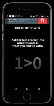 Rules Of Power screenshot 2