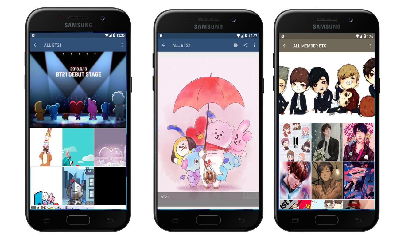 Bts Wallpaper Bt21 Pour Android Telechargez L Apk