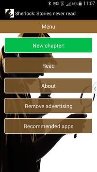 Sherlock: Stories never read apk screenshot