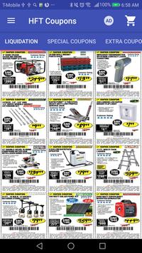 Coupons for Harbor Freight Tools poster