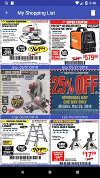 Coupons for Harbor Freight Tools screenshot 13