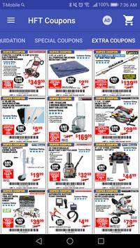 Coupons for Harbor Freight Tools screenshot 2
