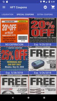 Coupons for Harbor Freight Tools screenshot 9