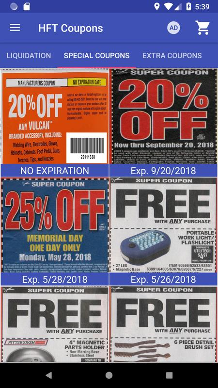Coupons For Harbor Freight Tools Dlya Android Skachat Apk