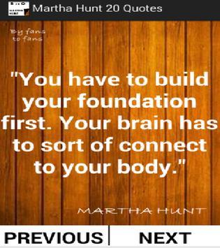 Martha Hunt Best 20 Quotes screenshot 1