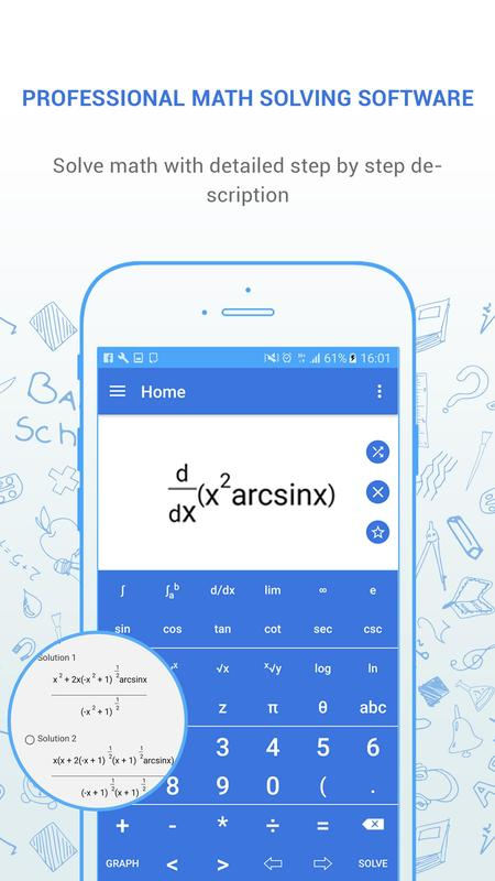 step by step math problem solver Free math problem solver answers your algebra, geometry, trigonometry, calculus, and statistics homework questions with step-by-step explanations, just like a math tutor.