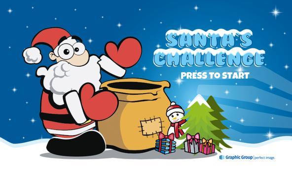 Santa's Challenge poster