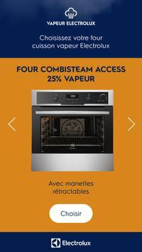 Vapeur Electrolux screenshot 1