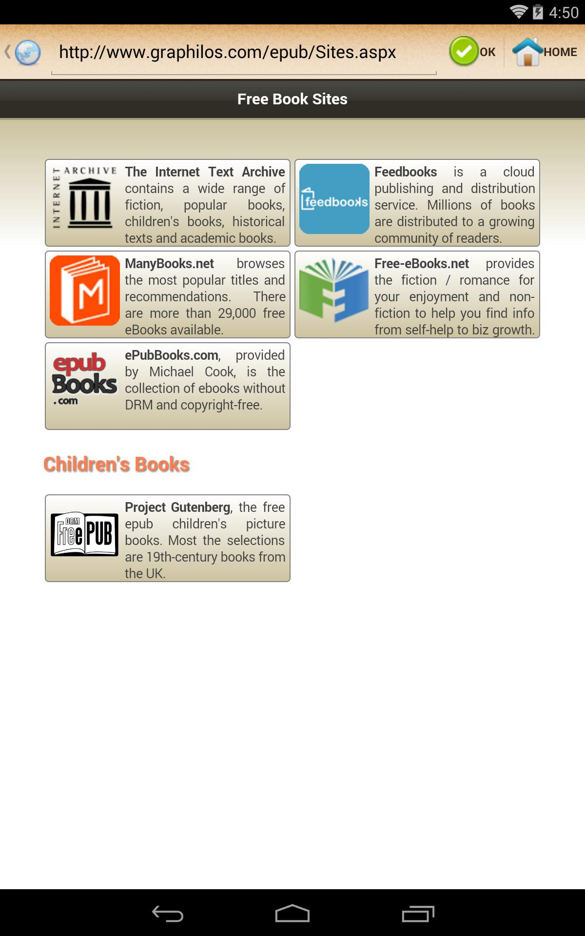 ePub Reader for Android - APK Download
