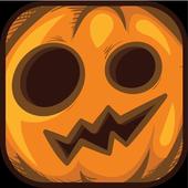 Halloween. Holy Pumpkin icon