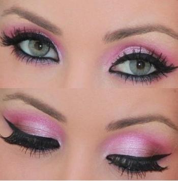 Pretty Eye Makeup Application Ideas screenshot 2