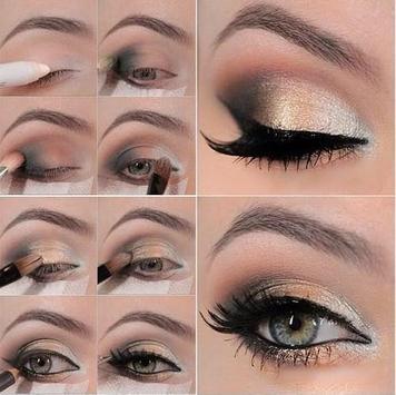 Pretty Eye Makeup Application Ideas screenshot 3