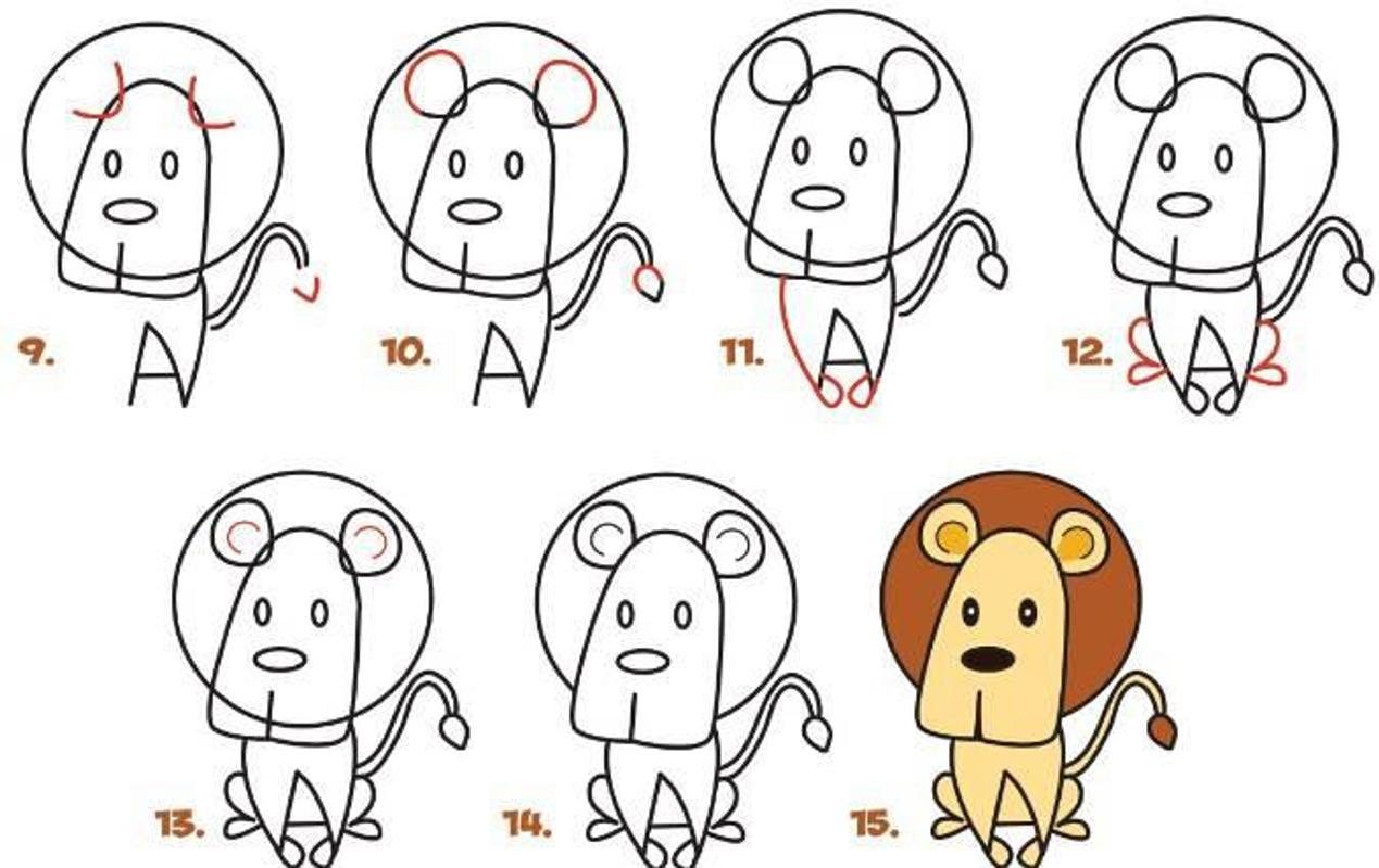100 Guías simples para dibujar niños for Android - APK Download