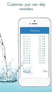 Daily Water Tracker Reminder - Hydration Log screenshot 4
