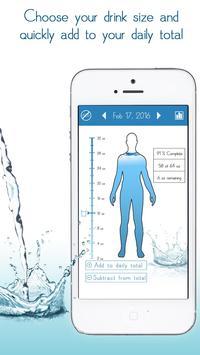 Daily Water Tracker Reminder - Hydration Log screenshot 1