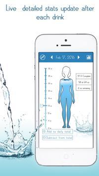 Daily Water Tracker Reminder - Hydration Log screenshot 2