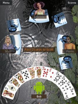GrassGames' Hearts Lite apk screenshot