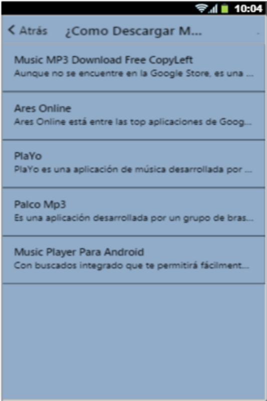 Descargar Musica Gratis Para Movil Mp3 Mp4 Manual Für Android Apk