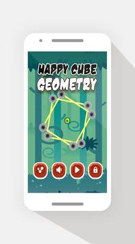 Happy Cube Geometry poster