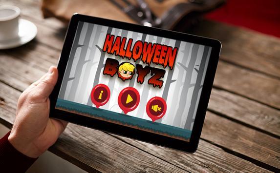 Halloween Boys Run poster