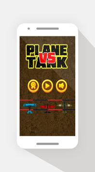 Plane vs Tank poster