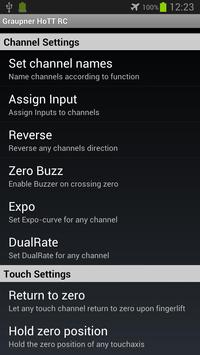 Graupner HoTT RC - BETA screenshot 2