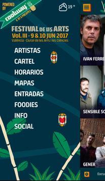 Festival de Les Arts Valencia poster