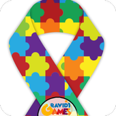 Autism Awareness Fidget Spinner icon