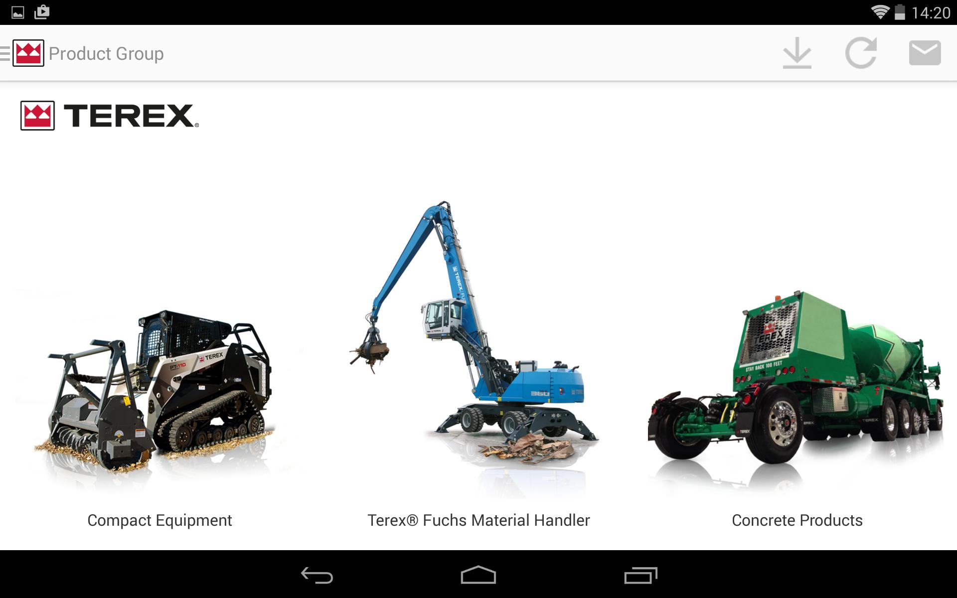 Terex Construction Dealer Tool for Android - APK Download